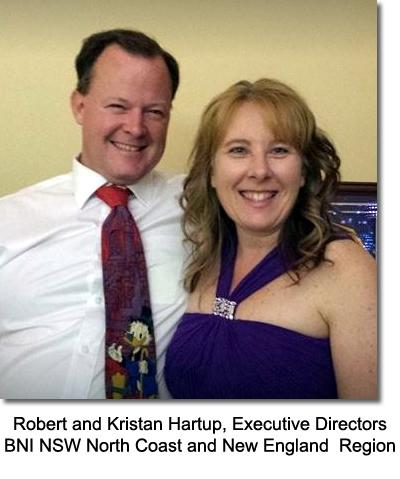 Robert Kristan Hartup Executives Directors BNI NSW North Coast and New England